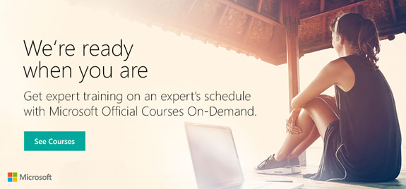MOC On-Demand Training Courses