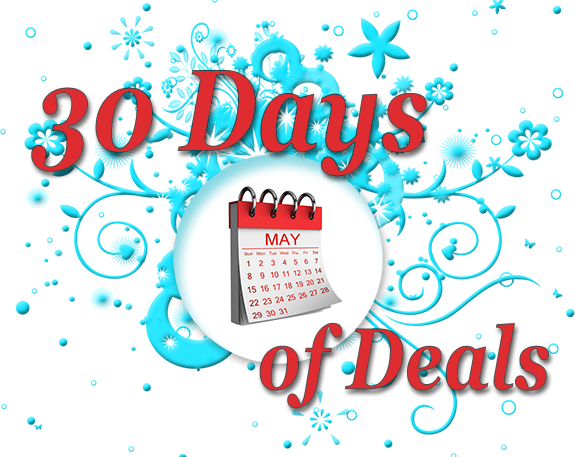 30 Days of Deals in May